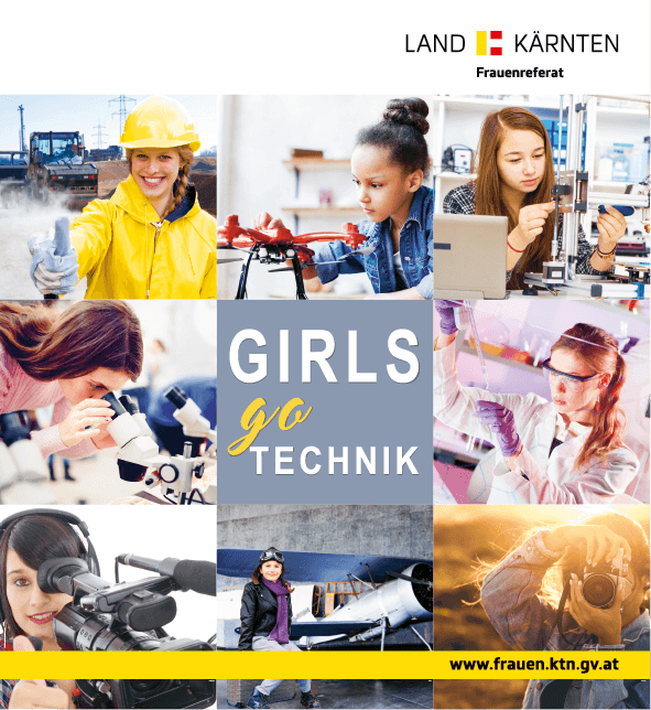 Logo Girls go Technik