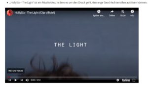 Titel: HollySiz – The Light
